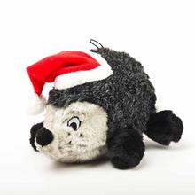Holiday Hedgehog II Plush Dog Toy