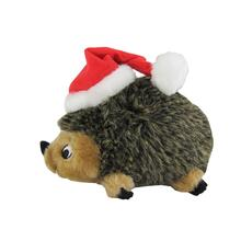 Holiday Hedgehog Dog Toy