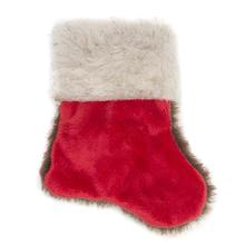 Holiday Stocking Dog Toy by West Paw - Red
