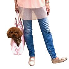 Hollywood Dog Tote Carrier - Pink Snake