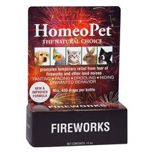 HomeoPet Fireworks Anxiety for Dog, Cat, and Small Animal Supplement
