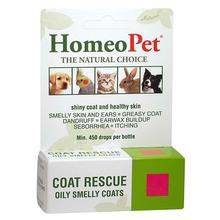 HomeoPet Coat Rescue for Dog, Cat, and Small Animal Supplements