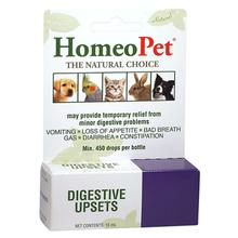 HomeoPet Digestive Upsets Supplement for Dog, Cat, and Small Animals