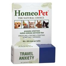 HomeoPet Travel Anxiety Dog, Cat, and Small Animal Supplement