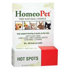 HomeoPet Hot Spot Relief for Dog, Cat, and Small Animal Supplement