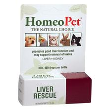 HomeoPet Liver Rescue for Dog, Cat, and Small Animal Supplement