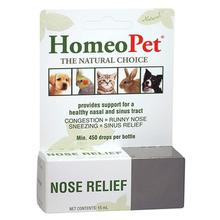 HomeoPet Nose Relief for Dog, Cat, and Small Animal Supplement