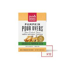 The Honest Kitchen Pumpkin Pour Overs Wet Dog Food Topper - Chicken & Pumpkin Stew