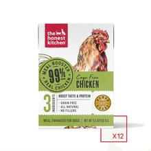 The Honest Kitchen 99% Chicken Wet Dog Food Topper Carton
