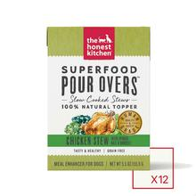 The Honest Kitchen Superfood Pour Overs Wet Dog Food Topper - Chicken Stew