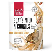 The Honest Kitchen Goat's Milk N' Cookies Dog Treats - Peanut Butter & Honey Recipe