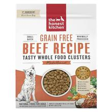 The Honest Kitchen Grain Free Whole Food Clusters Dog Food - Beef