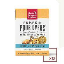 The Honest Kitchen Pumpkin Pour Overs Wet Dog Food Topper - Turkey & Pumpkin Stew