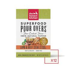 The Honest Kitchen Superfood Pour Overs Wet Dog Food Topper - Lamb & Beef Stew