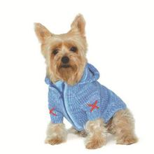 Hoodie Sweater Dog Coat by Dogo - Blue