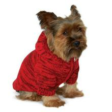 Hoodie Sweater Dog Coat by Dogo - Red