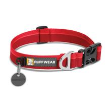 Hoopie Dog Collar by RuffWear - Red Currant
