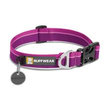 Hoopie Dog Collar by RuffWear - Purple Dusk
