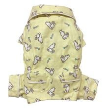 Hopping Bunny Flannel Dog Pajamas By Klippo
