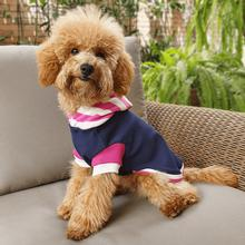 Hot Dogz Pink Stripes Dog Hoodie