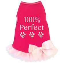 100% Perfect Dog Tank Dress by I See Spot - Hot Pink