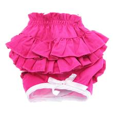 Hot Pink Ruffled Dog Panties by Doggie Design