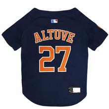 Houston Astros Jose Altuve Dog Jersey - Navy Blue
