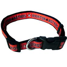 Houston Astros Officially Licensed Ribbon Dog Collar