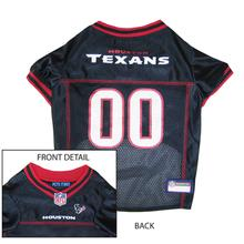 Houston Texans Officially Licensed Dog Jersey - Red Trim