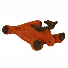 HuggleHounds Flatties Dog Toy - Moose