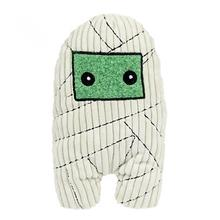 HuggleHounds Halloween Plush Treat Dog Toy - Mummy