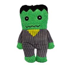 HuggleHounds Halloween Plush Treat Dog Toy - Frankenstein