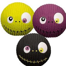 HuggleHounds Halloween Ruff-Tex Dog Toys - Zombie 3-Pack