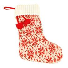 HuggleHounds Holiday Cat Stocking - Snowflake