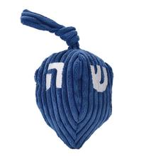 HuggleHounds Holiday Knottie Dog Toy - Hanukkah Dreidel