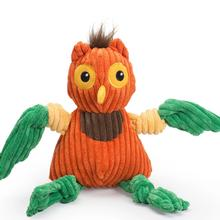 HuggleHounds Knottie Dog Toy - Limited Edition Poppy the Owl