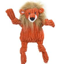 HuggleHounds Knotties Dog Toy - Lion