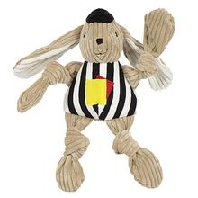 HuggleHounds Knotties Dog Toy - Referee Bunny