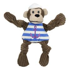 HuggleHounds Knotties Dog Toy - Sailor Chimp