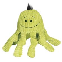 HuggleHounds Octo-Knottie Dog Toy - Citron