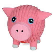 HuggleHounds Ruff-Tex Dog Toy - Hamlet the Pig
