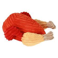 HuggleHounds Thanksgiving Plush Turkey Dog Toy