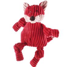 HuggleHounds Woodland Knotties Dog Toy - Fox
