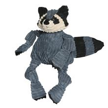 HuggleHounds Woodland Knotties Dog Toy - Raccoon