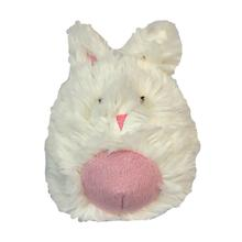 HuggleHounds Woodland Squooshie Ball Dog Toy - Bunny
