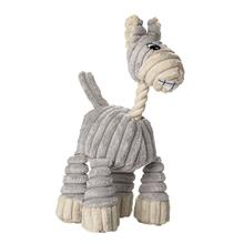 Huggly Zoo Donkey Dog Toy by HUNTER