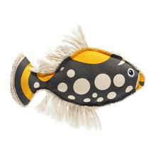 HUNTER Canvas Dog Toy - Maritime Koi