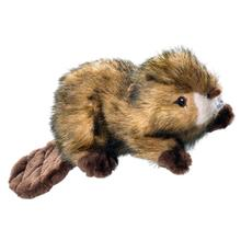 HUNTER Wildlife Plush Dog Toy - Beaver