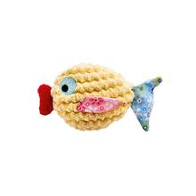 HUNTER Mamou Fish Cat Toy - Yellow