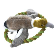 HUNTER Wildlife Plush Rope Dog Toy - Training Duck